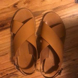 Madewell Boardwalk Leather Sandal